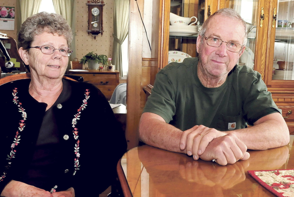 Connie and Elroy Chartrand run a farm in Norridgewock that was honored again by Oakhurst Dairy Farms.