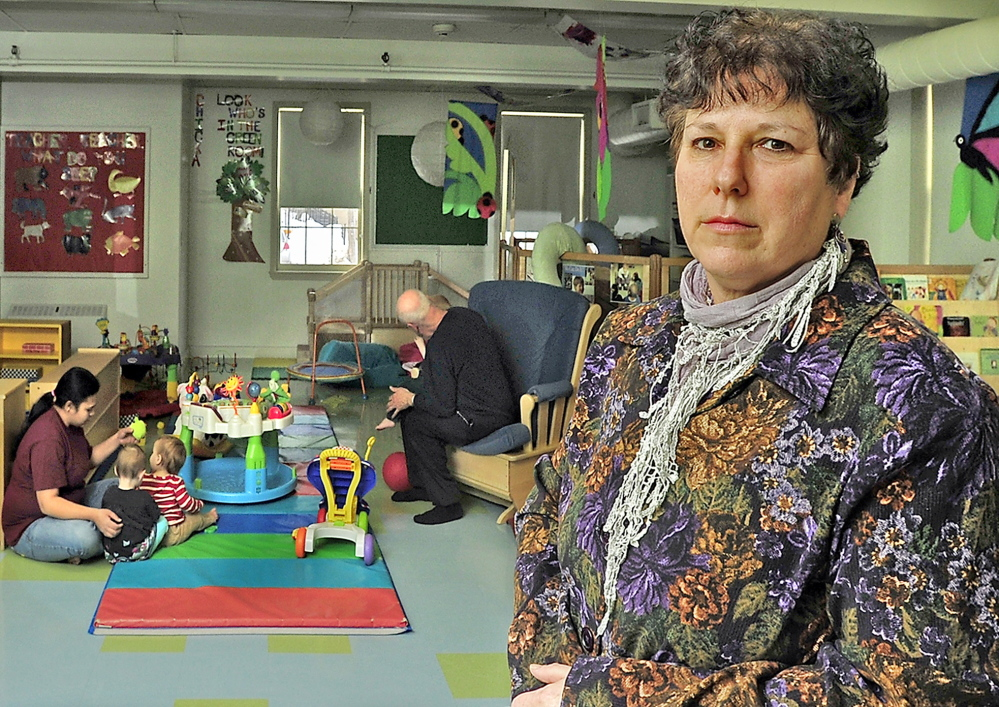 """Lori Moses, executive director of the Catherine Morrill Day Nursery in Portland, said the DHHS error forced parents to put their lives on hold. """"This is about whether they can accept work or not,"""" she said."""