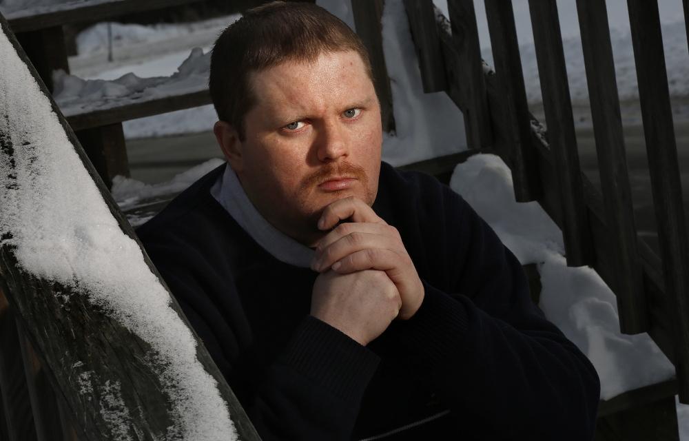 Daniel Vassie Jr., recovering heroin addict from New Gloucester