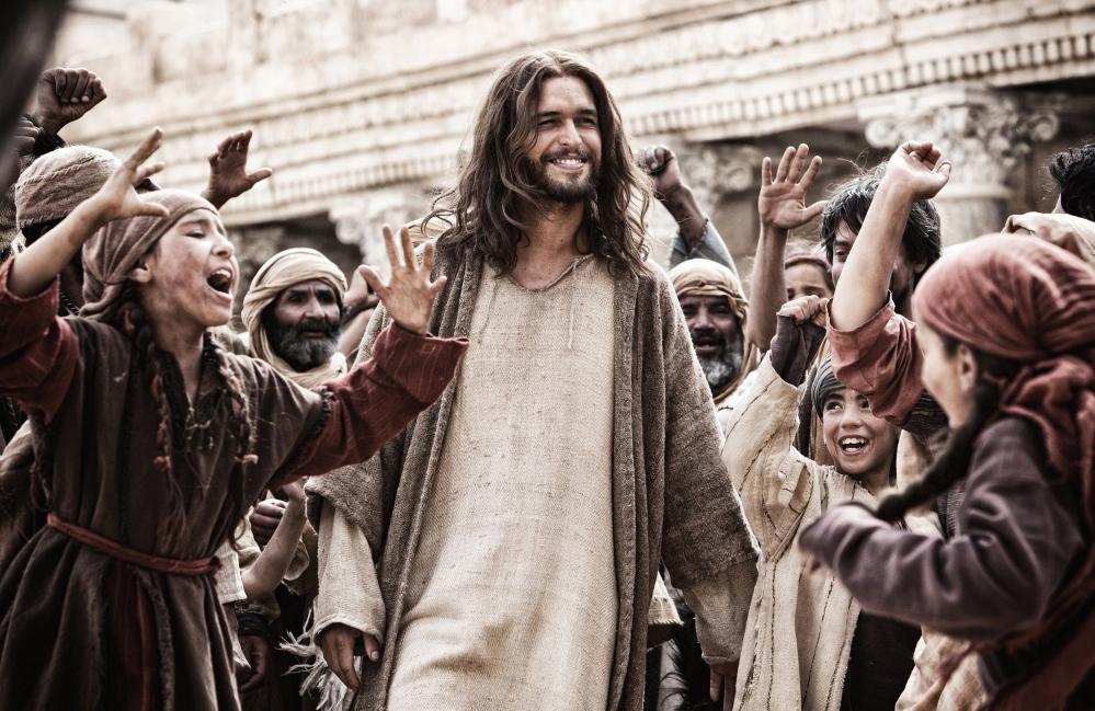 """Diogo Morgado as Jesus in """"Son of God."""""""