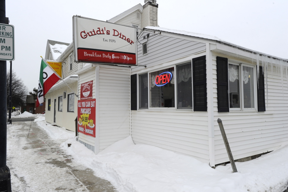 Guidi's Diner at 916 Main St. in Westbrook.