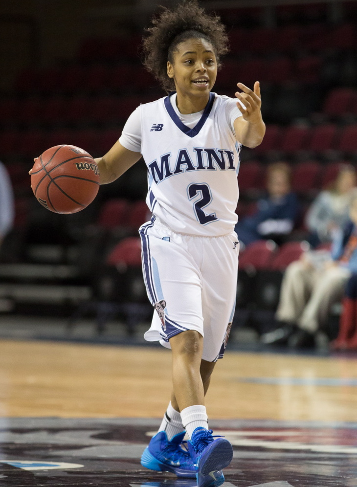 Cherrish Wallace knows all about winning. She was recruited to play at Baylor, but because of an injury became a student coach for an NCAA champion. Now she's healthy and playing for Maine.