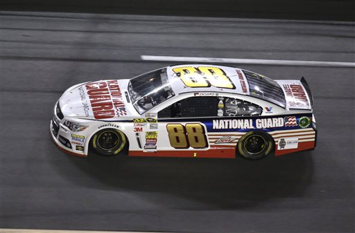 Dale Earnhardt Jr. races during the NASCAR Daytona 500 in Daytona Beach, Fla., on Sunday.