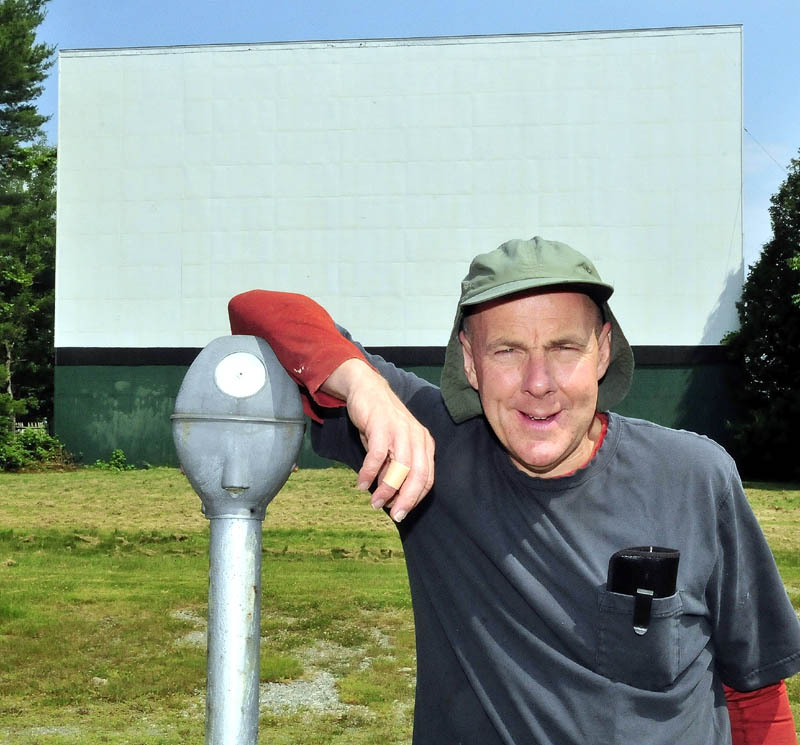Donald Brown Jr., owner of the Skowhegan Drive-In, says that within a year of his purchasing the drive-in, Hollywood's quick conversion to digital from 35 mm film took him by surprise. He has raised just $900 toward the $56,000 conversion cost.