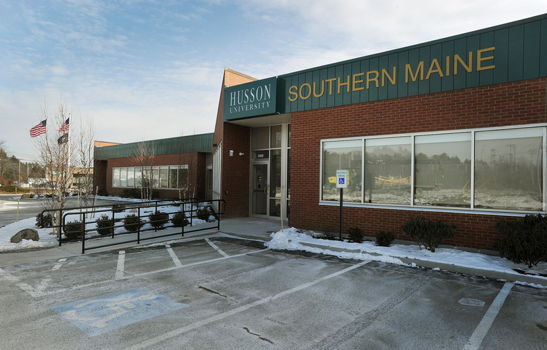 Husson University started classes at its new southern Maine campus, above, on Jan. 21 after moving out of leased space in South Portland in December.