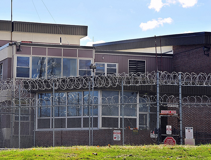This Oct. 17, 2013, photo shows the Maine Correctional Center in Windham, where Corrections Department officials say a growing number of dangerous prisoners are being housed.