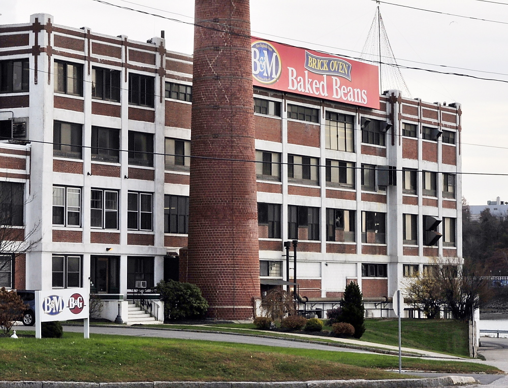 The B&M baked bean processing plant in Portland currently gets its beans via railroad, but the railroad wants to discontinue the service.