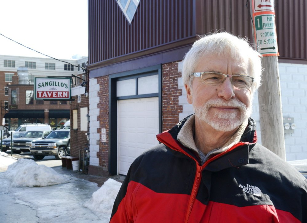 """Dean Bingham, owner of Dean's Sweets near Sangillo's on Hampshire Street, said he hasn't noticed problems at the bar. """"It's sort of an institution in the 'hood,"""" he said Monday."""