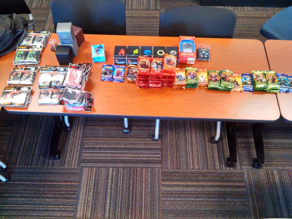 """Thousands of dollars worth of """"Magic: The Gathering"""" game cards were stolen Sunday from Spell Bound, a Waterville store."""
