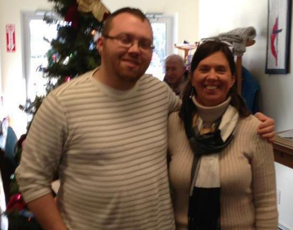 Craig D. McPherson, shown with his mother, Kelley Gallant, was killed in a car accident Sunday.