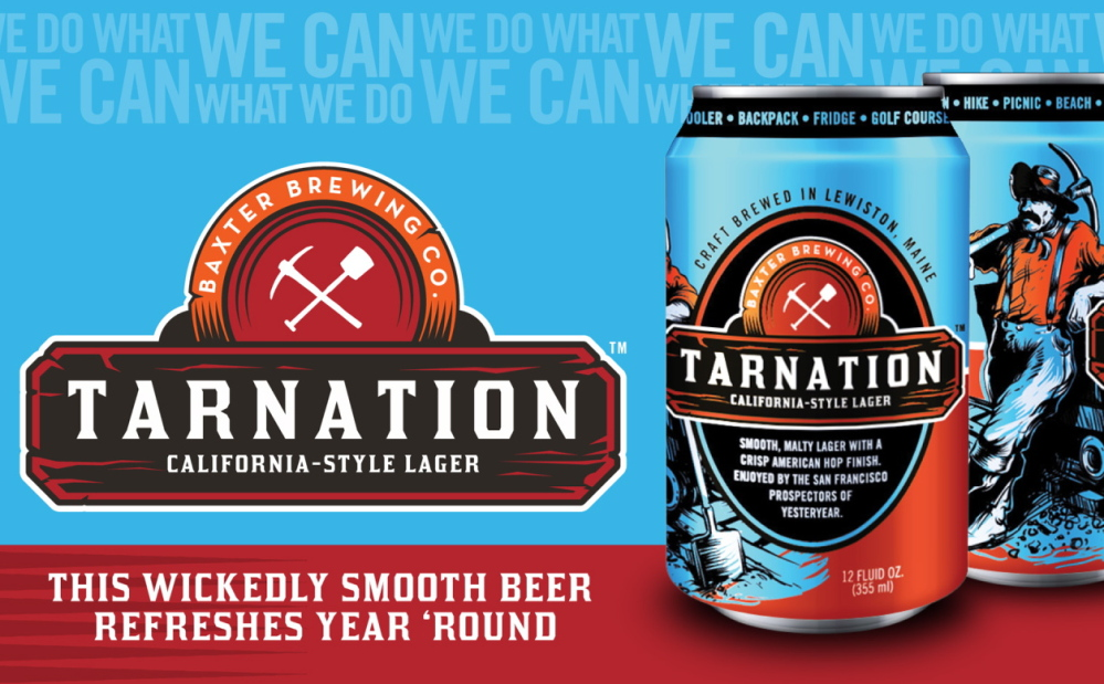 """""""Tarnation,"""" a California-style lager, has quickly become one of our columnist's favored Baxter brews."""