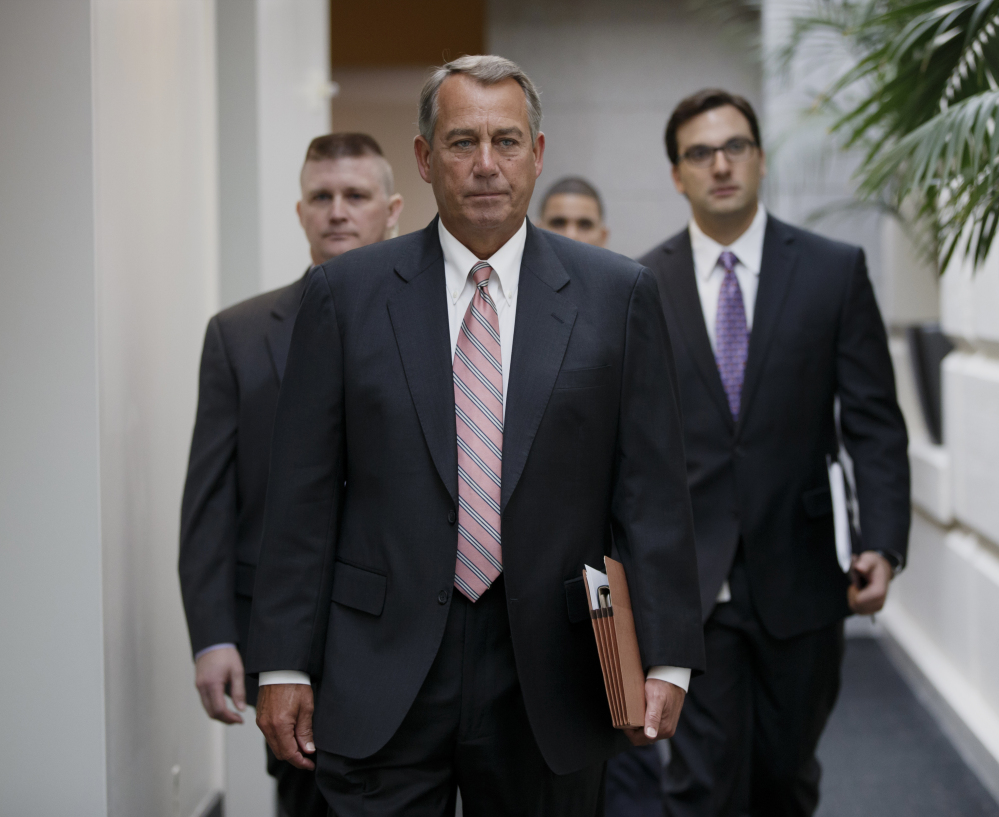 """House Speaker John Boehner, R-Ohio, dismissed President Obama's overtime-pay proposal as bad for job growth. """"If you don't have a job, you don't qualify for overtime,"""" he said."""