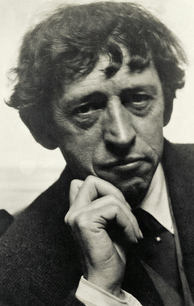 The painter John Marin, photographed by Alfred Stieglitz in 1922.