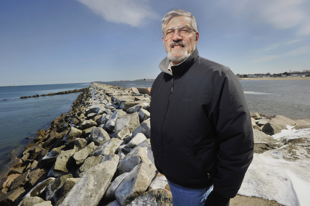 Rick Milliard, a member of Saco's Shoreline Commission, has lived in Camp Ellis for most of his life and has been actively involved in pursuing a beach erosion fix for the past 15 years.