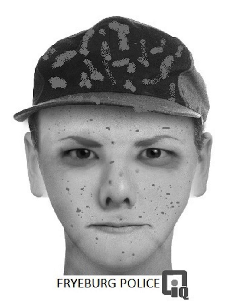 Composite sketch of suspect.