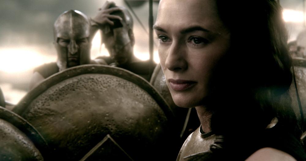 """Lena Headey as Queen Gorgo in """"300: Rise of an Empire."""""""