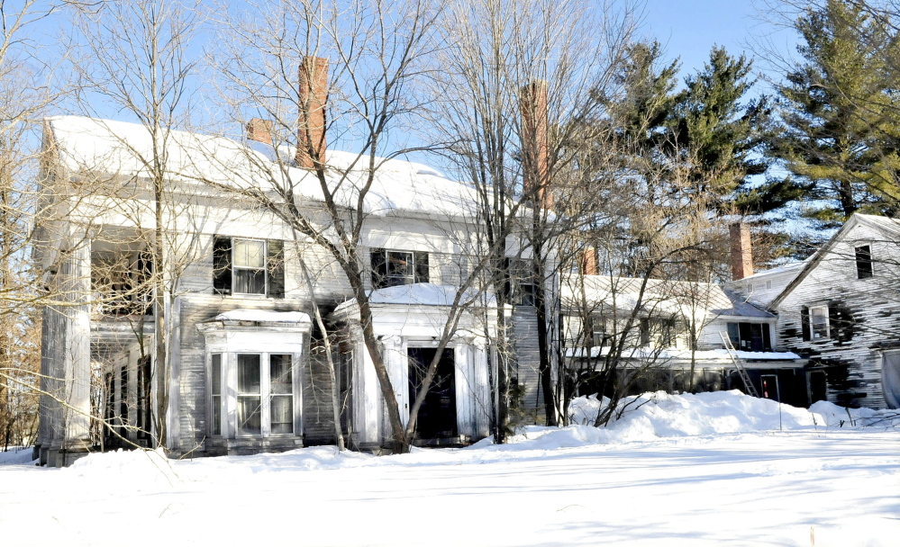 The home of former Maine Gov. Abner Coburn in Skowhegan has fallen into a state of disrepair. On Saturday, there will be a celebration of Coburn's 211th birthday.