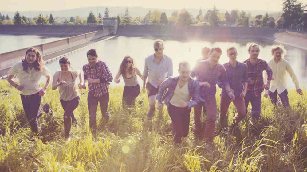 Typhoon, an 11-member indie rock band, plays Port City Music Hall in Portland on Monday with Lady Lamb the Beekeeper.