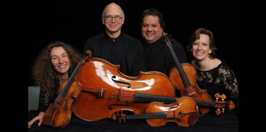The DaPonte String Quartet performs four concerts from Thursday through Sunday, including one at the Portland Public Library on Saturday.