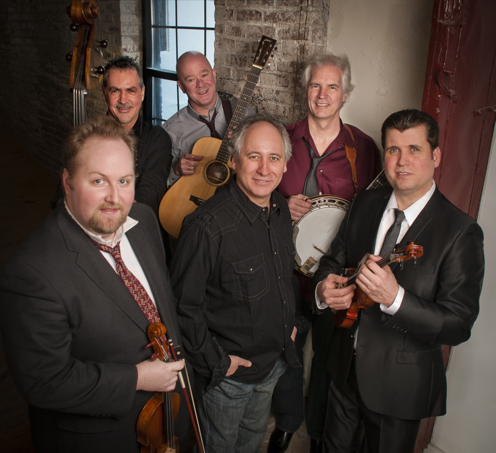 The progressive bluegrass ensemble Depue Brothers Band performs Saturday at Hannaford Hall on the Portland campus of the University of Southern Maine, presented by Portland Ovations.
