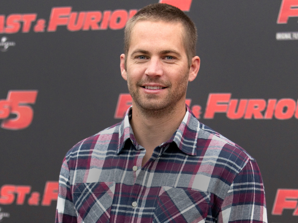 Actor Paul Walker starred in all but one of the 'Fast & Furious' movies.
