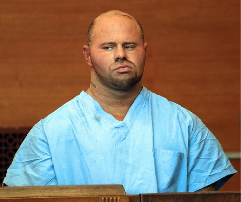 Jared Remy, above, son of a popular Red Sox broadcaster, is accused of killing the mother of his 5-year-old daughter last summer, after years of getting the benefit of the doubt from judges on charges of terrorizing, threatening or assaulting women. Too often, threats and assaults are allowed to escalate, after being minimized and attributed to anger or substance abuse.
