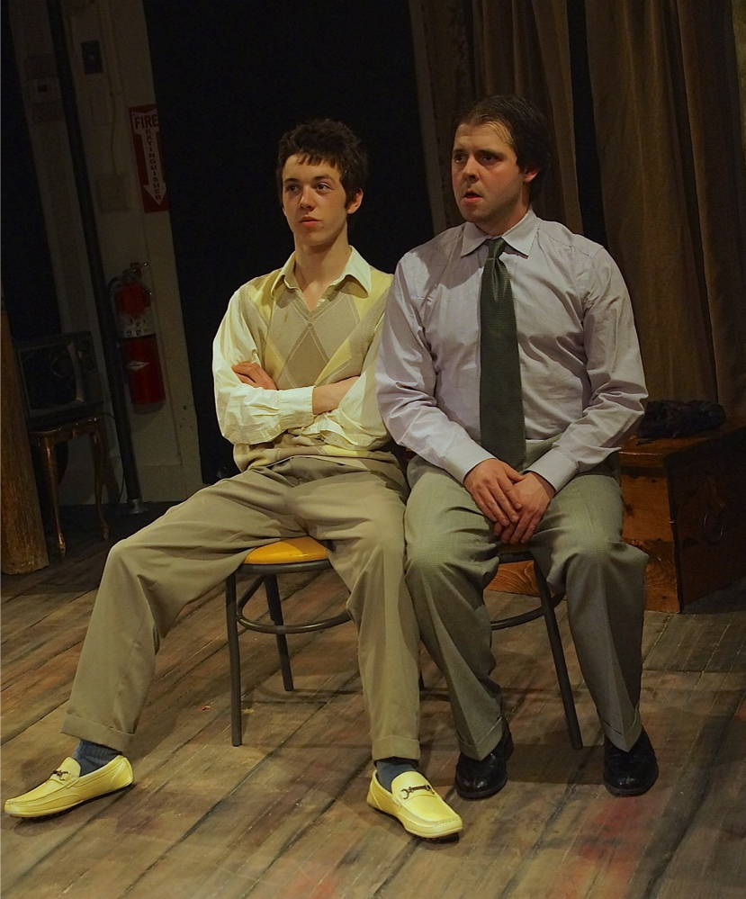 """The Mad Horse Theatre Company's production of """"Orphans"""" runs through Sunday at the Hutchins School in South Portland."""