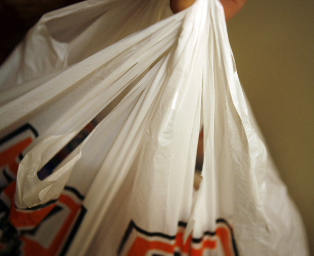 New Yorkers use 1 billion disposable plastic bags a year and it costs $10 million to ship used bags to landfills.