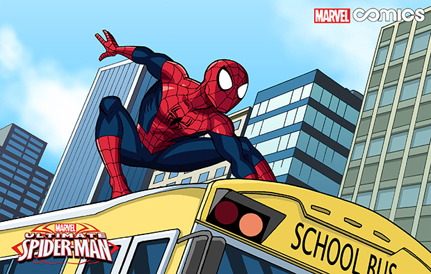 This image released by Marvel Comics shows a scene from the first all-ages Infinite Comics series,