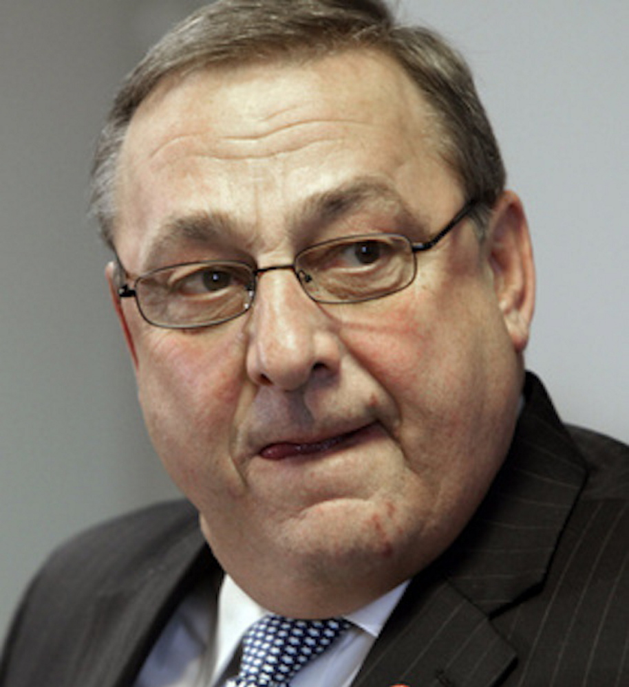 Gov. Paul LePage said Thursday that the federal government will penalize the state $7 million because its welfare cash assistance program doesn't meet federal work-participation standards.
