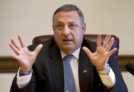 The Maine Senate has rejected a plan by Gov. Paul LePage to ask voters if they want to exchange tax relief for $100 million in unspecified state cuts.