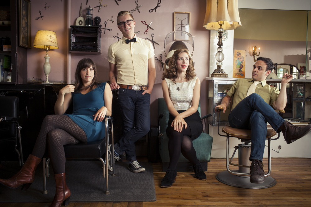 Lake Street Dive is Bridget Kearney, Mike Olson, Rachael Price and Mike Calabrese.