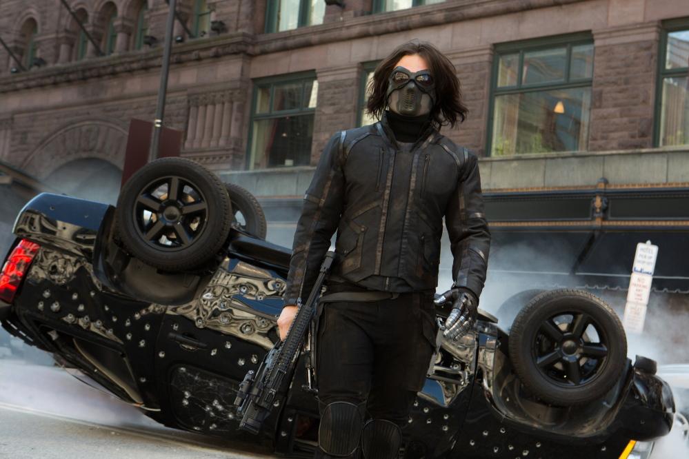 Sebastian Stan is Bucky Barnes, aka the Winter Soldier.