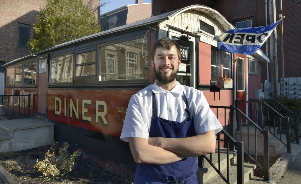 """""""We want to put as much effort into a corned beef sandwich as we would in a $30 dinner at Hugo's,"""" says Chad Conley, the new co-owner of the Palace Diner in Biddeford."""