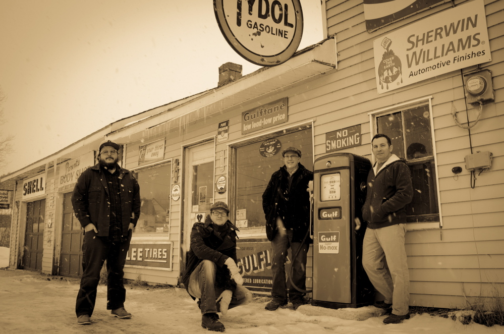 Americana outfit Gunther Brown is at Round Top Farm in Damariscotta on Friday.
