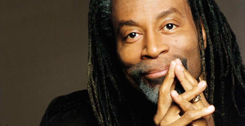 Bobby McFerrin is at Merrill Auditorium in Portland on April 13, presented by Portland Ovations.