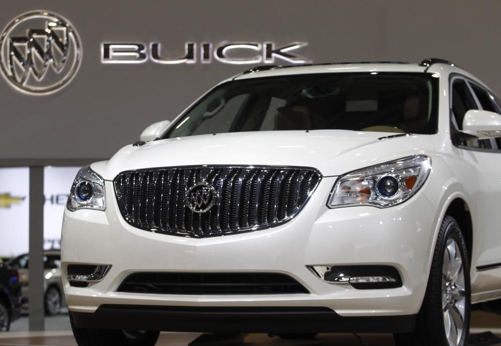 Buick Enclave: Air bag problems
