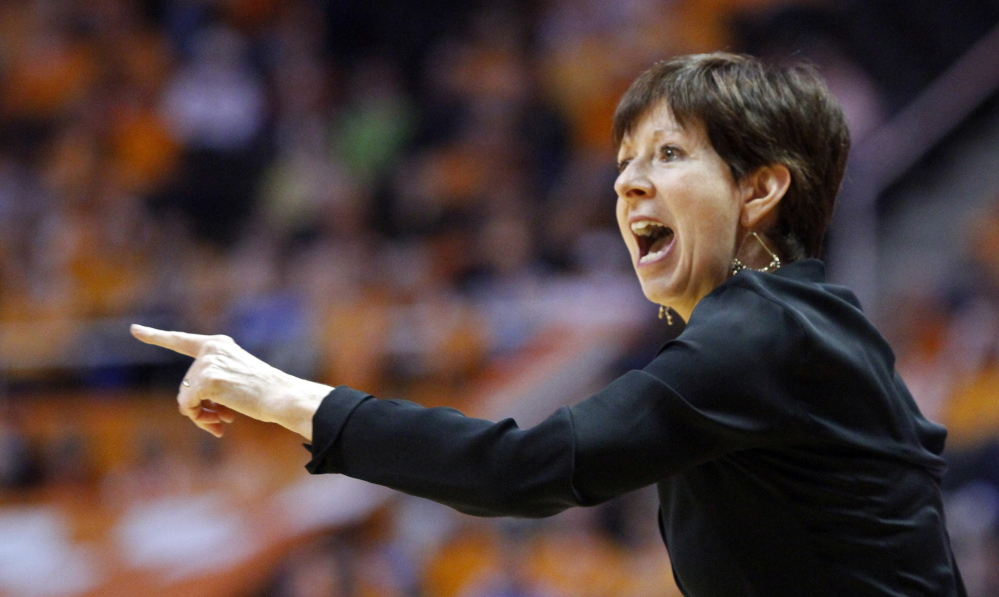 Notre Dame head coach Muffet McGraw has her undefeated team on an unprecedented collision course to meet unbeaten UConn in the national championship game.