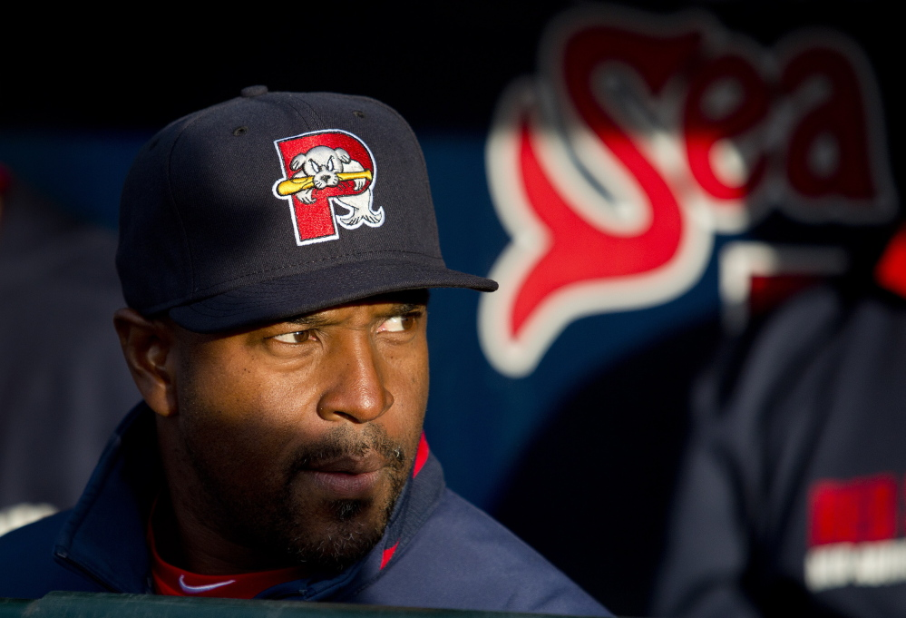"""Billy McMillon, 42, is the first former Sea Dog to come back as the team's manager. """"He thinks like we do,"""" said Mookie Betts, a promising prospect in the Red Sox system."""