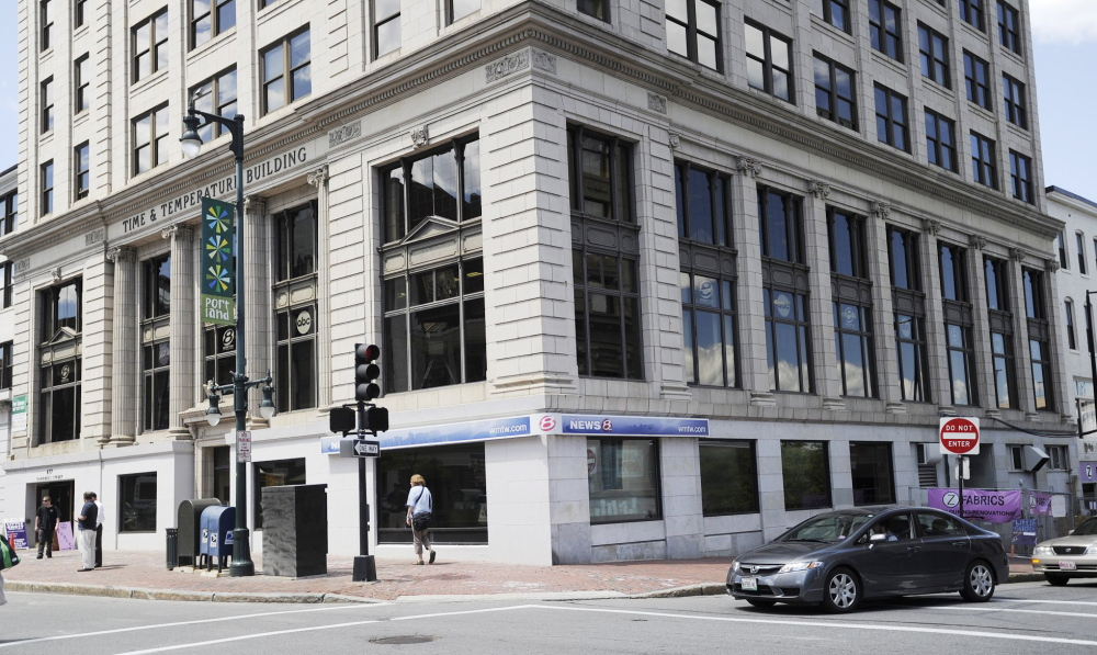 WMTW-TV has operated out of the Time and Temperature building on Congress Street in Portland for the past 15 years.
