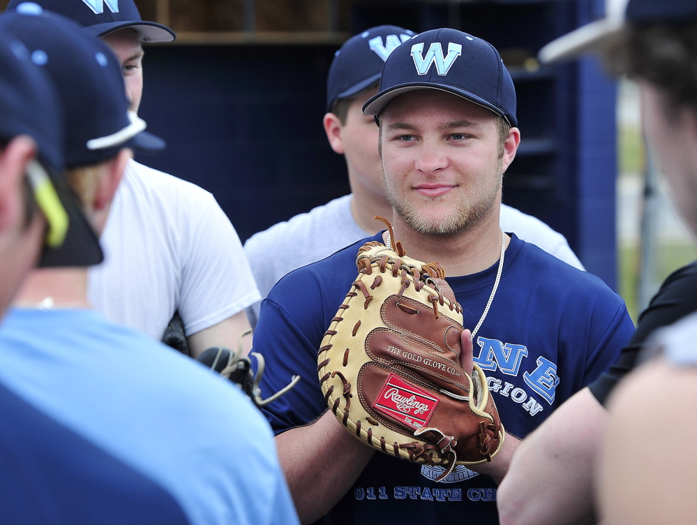 Kyle Heath has been the main attraction for a Westbrook team that won its first state title in 62 years last spring, not just as a hitter – the league batting champ – but as a catcher who calls the pitches and prevents passed balls.