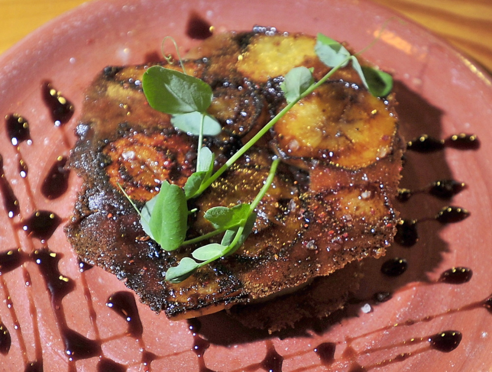 Sheep's cheese caramelized with root vegetable and 15-year aged balsamic vinegar