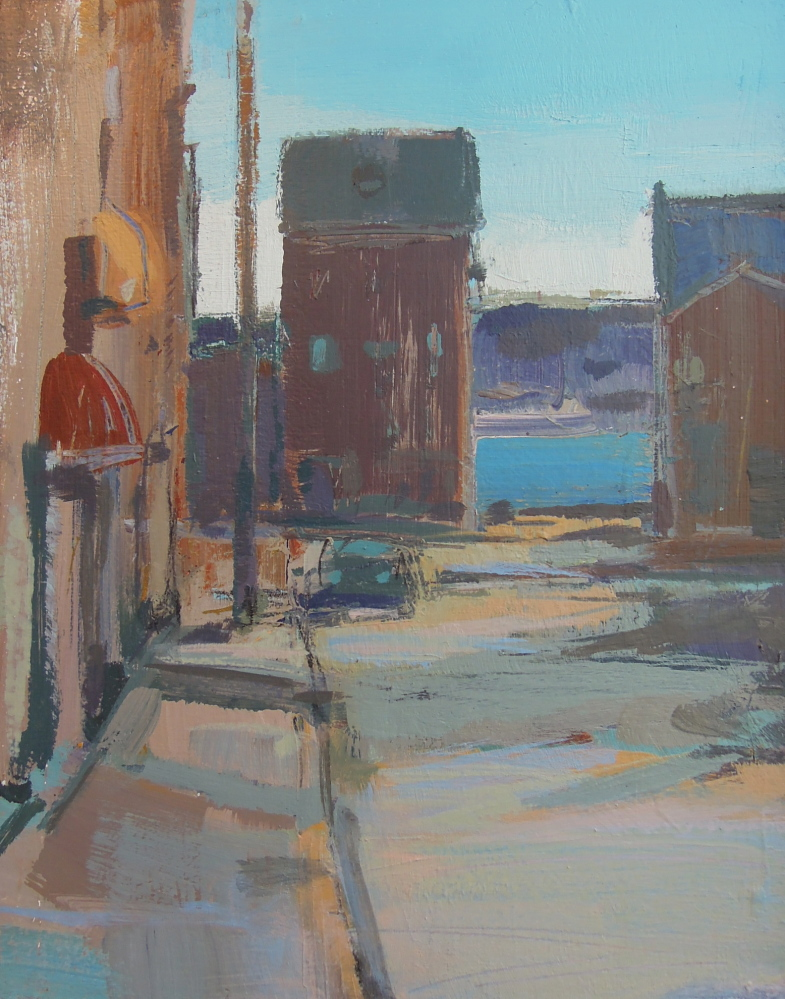 """""""Silver Street"""" by Roy Germon"""