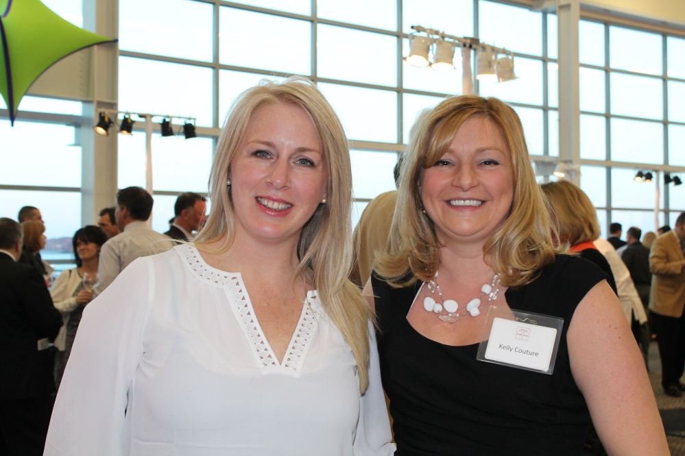 Erica Archer of Wine Wise with Kelly Couture, events manager at Easter Seals Maine