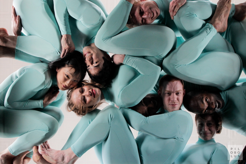 Pilobolus performs five dances from its repertory spanning the four decades since its inception at Dartmouth College.