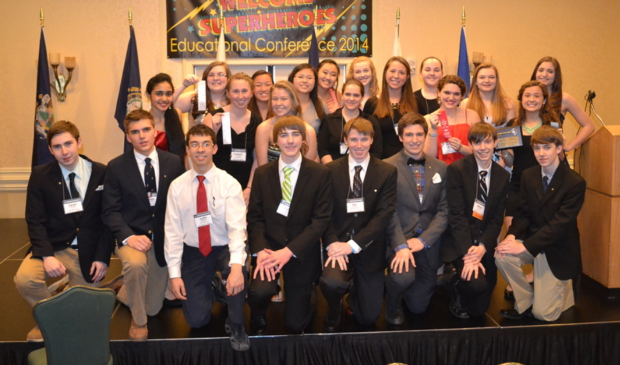 Members of the Sanford High School Key Club recently attended the District Educational Conference of the New England and Bermuda District in Springfield, Mass., where they took part in a variety of activities. The students elected officers and took home several awards.