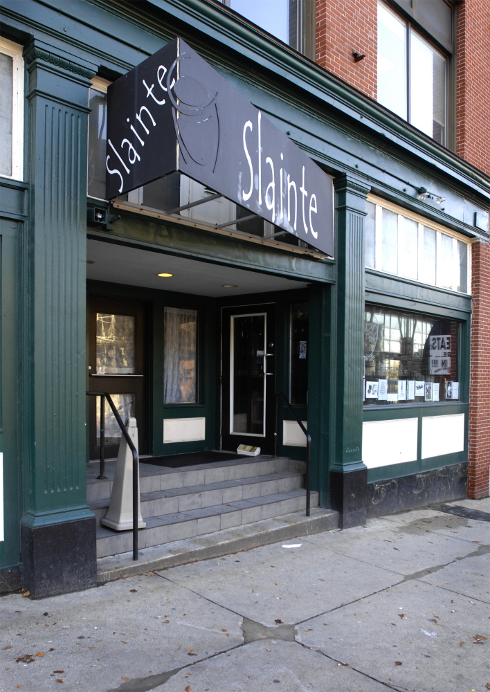 Slainte, at 24 Preble St. in Portland, is hosting a farewell show Saturday night before the pub closes for good.