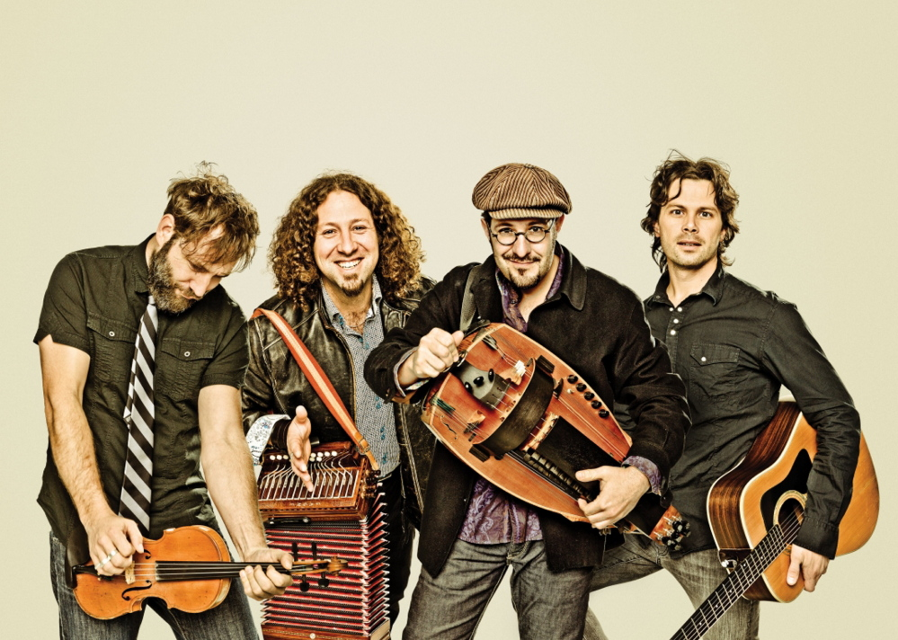 Progressive Quebecoise quartet Le Vent Du Nord plays Friday at The Strand Theatre in Rockland.