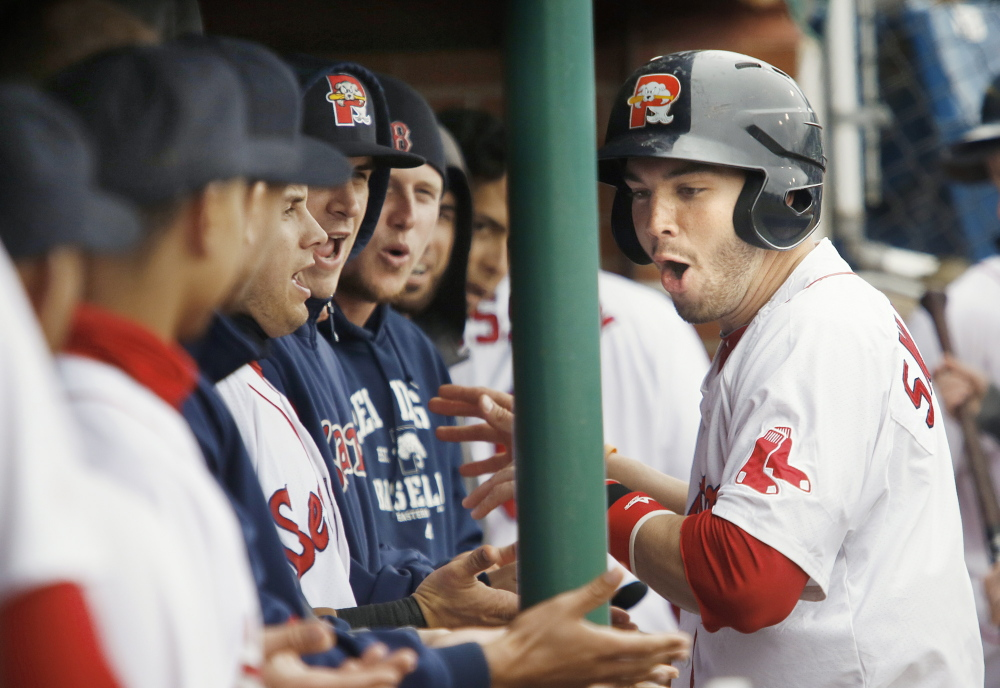 The Portland Sea Dogs, with the best record in the Eastern League, are turning into one of those don't-miss teams, whether it's an outfielder on the mound or a timely home run, like Blake Swihart's to tie it in the 10th inning Saturday.