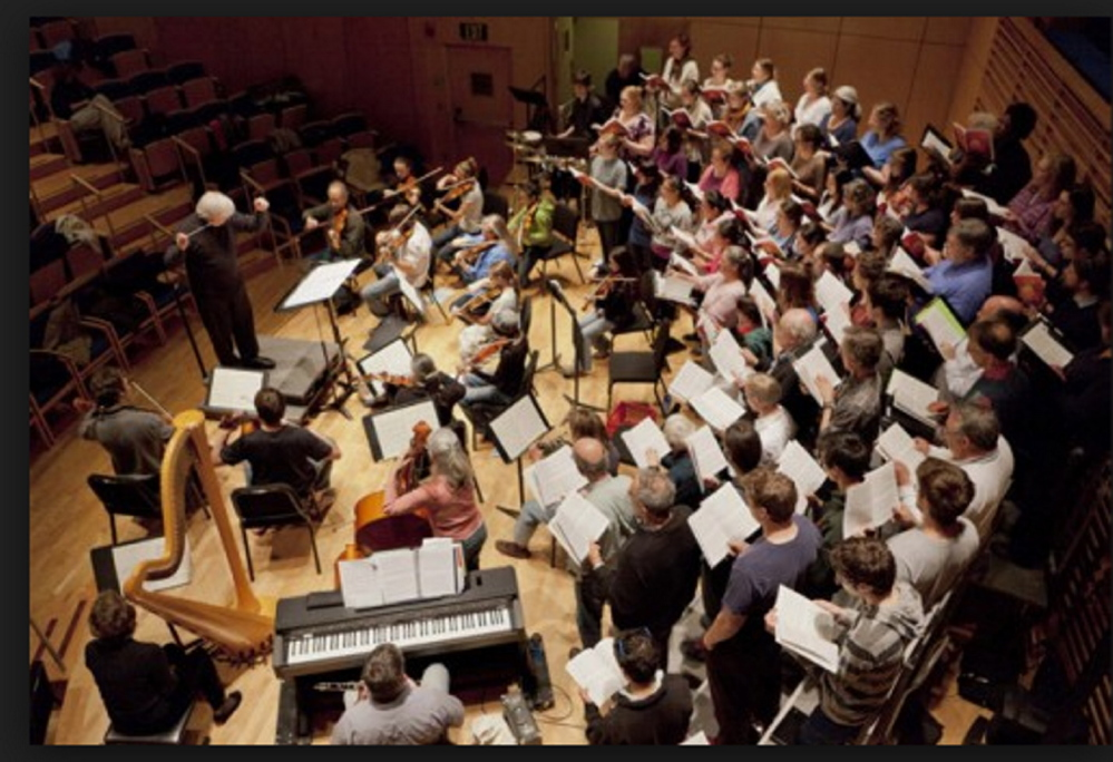 Mozart Mentors Orchestra and the Bowdoin Chorus will present two large-scale psalm settings this week.